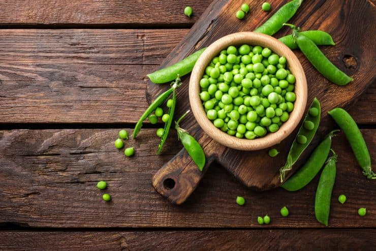 are peas good for you losing weight