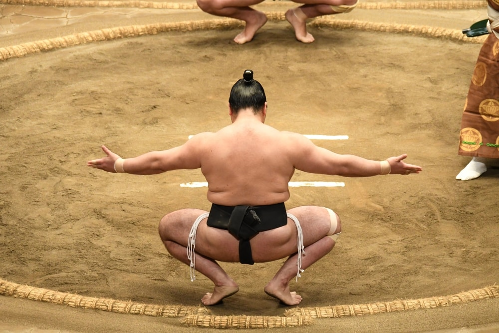 sumo wrestler diet calories