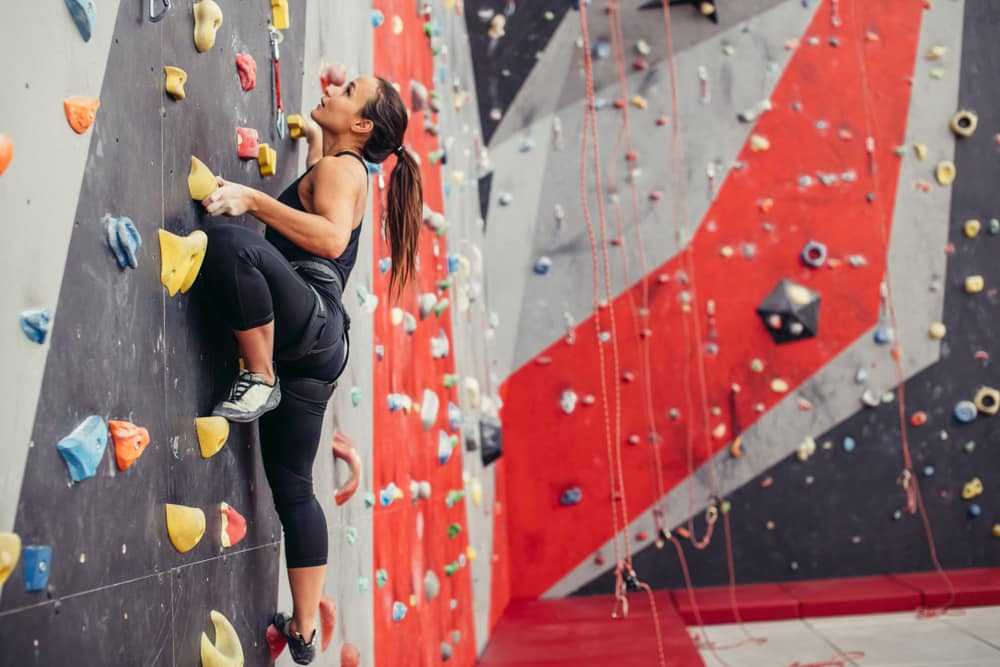 how long does it take to get into shape rock climbing