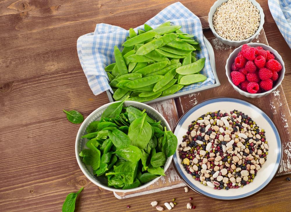 low fat high fiber diet