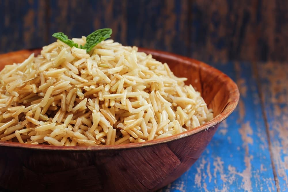 brown rice on low carb diet