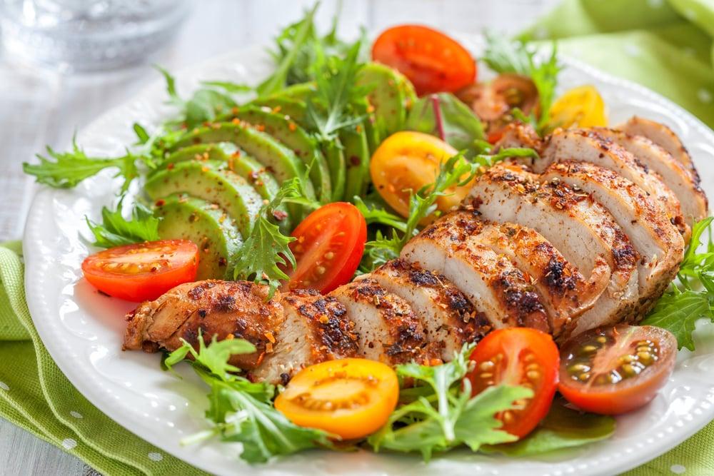 3 week vegan diet vs low carb diet