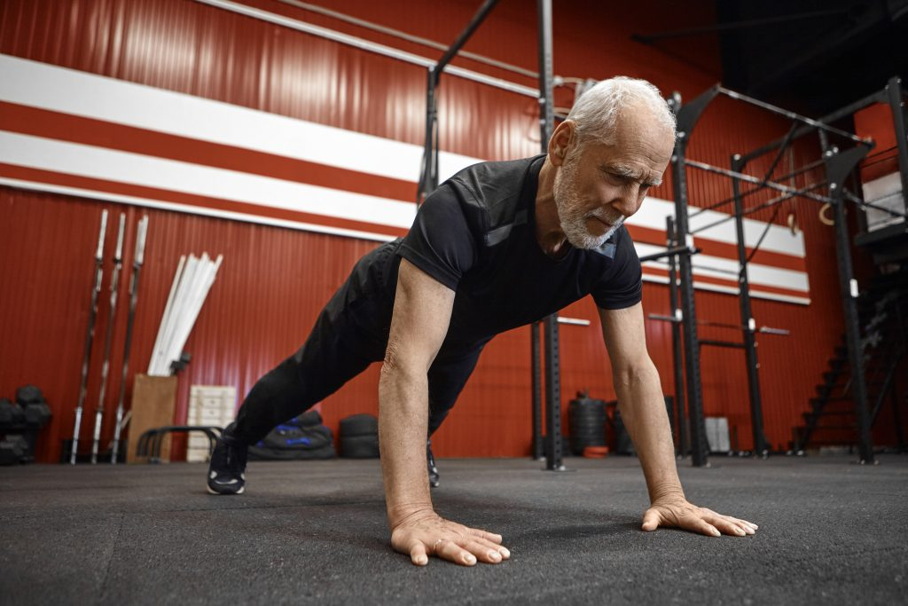 standing core exercises for seniors