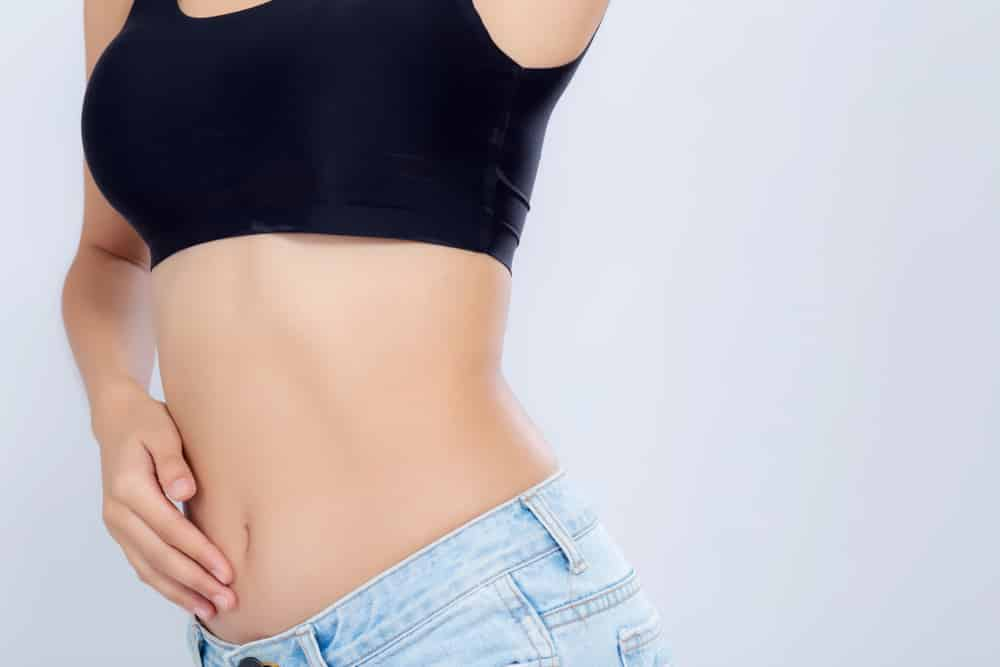 where do you lose weight first: girls