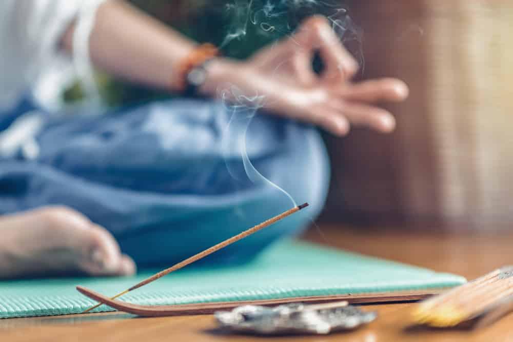 opening third eye feeling after meditation