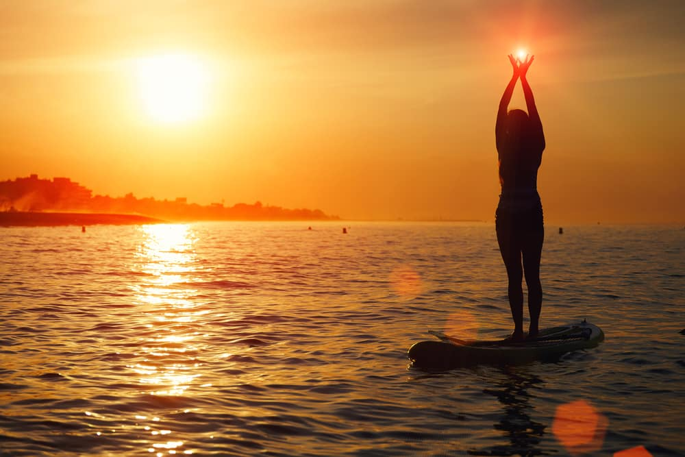 standing meditation posture