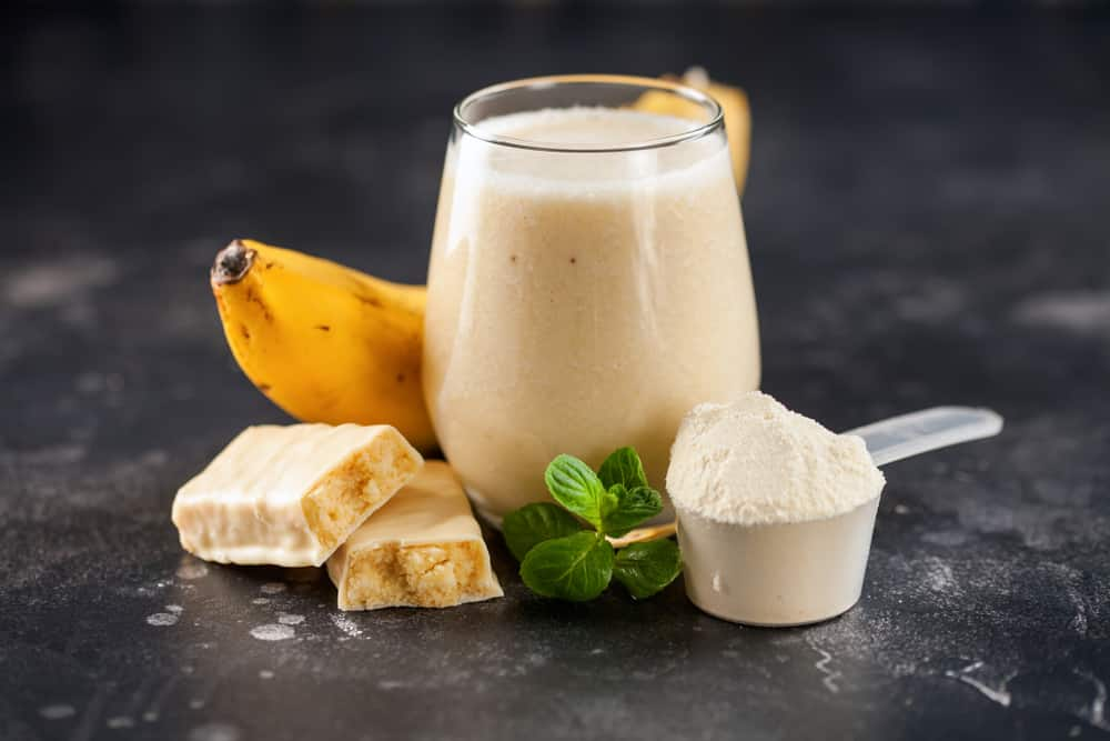 homemade protein shake for weight gain