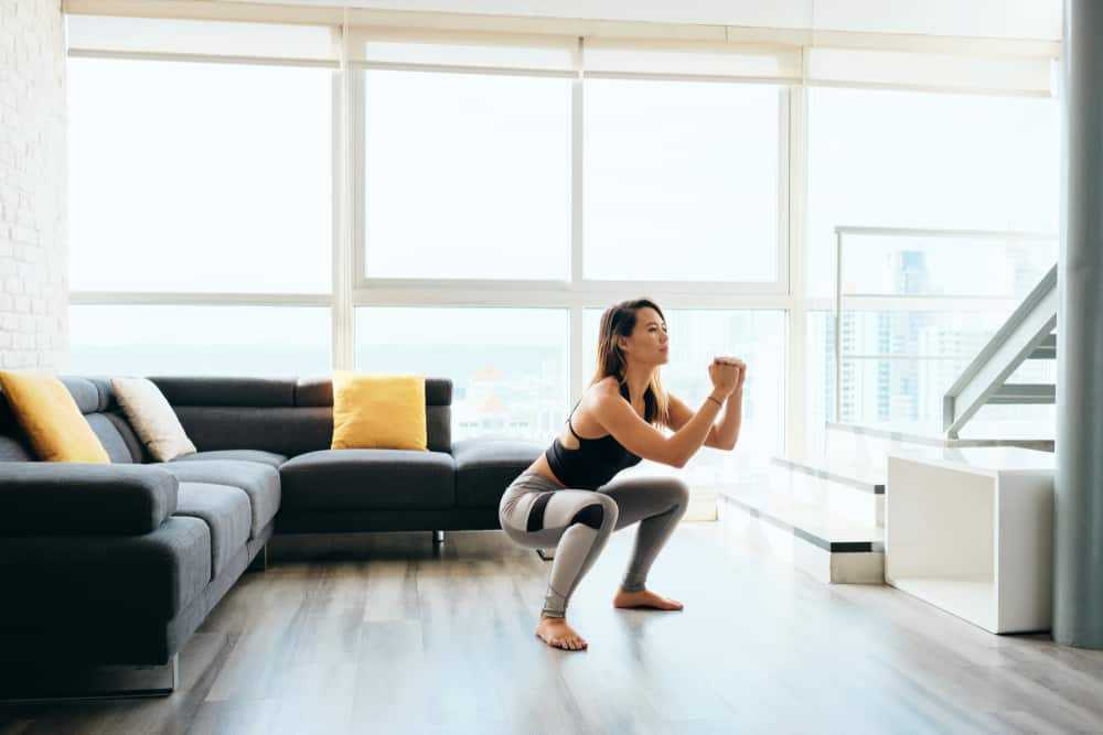 ways to exercise at home without equipment