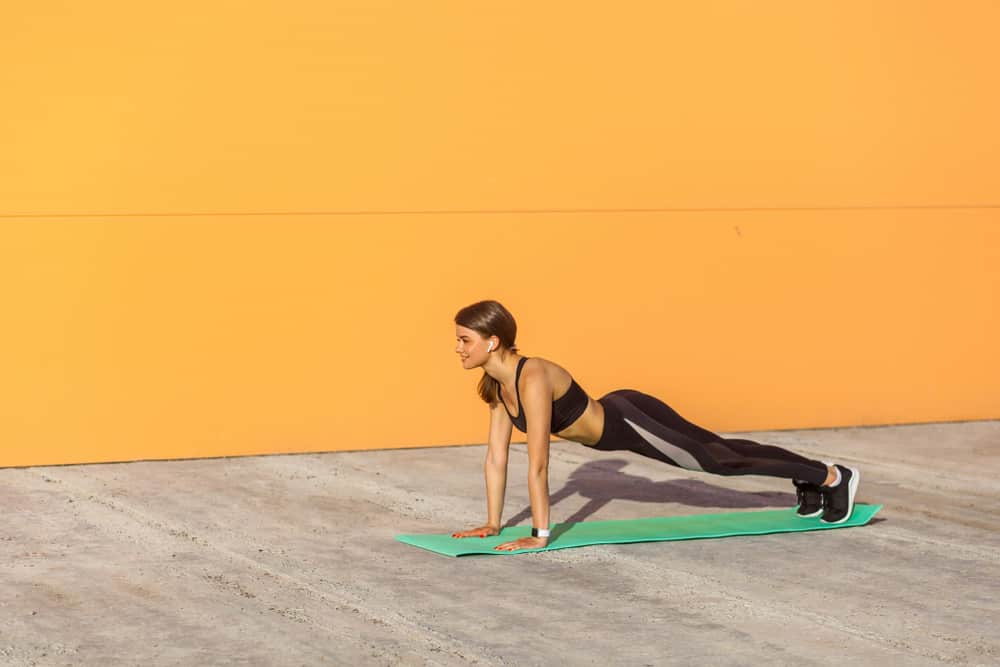 modified plank for obese