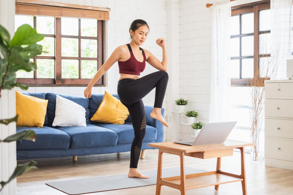 aerobic exercise examples at home
