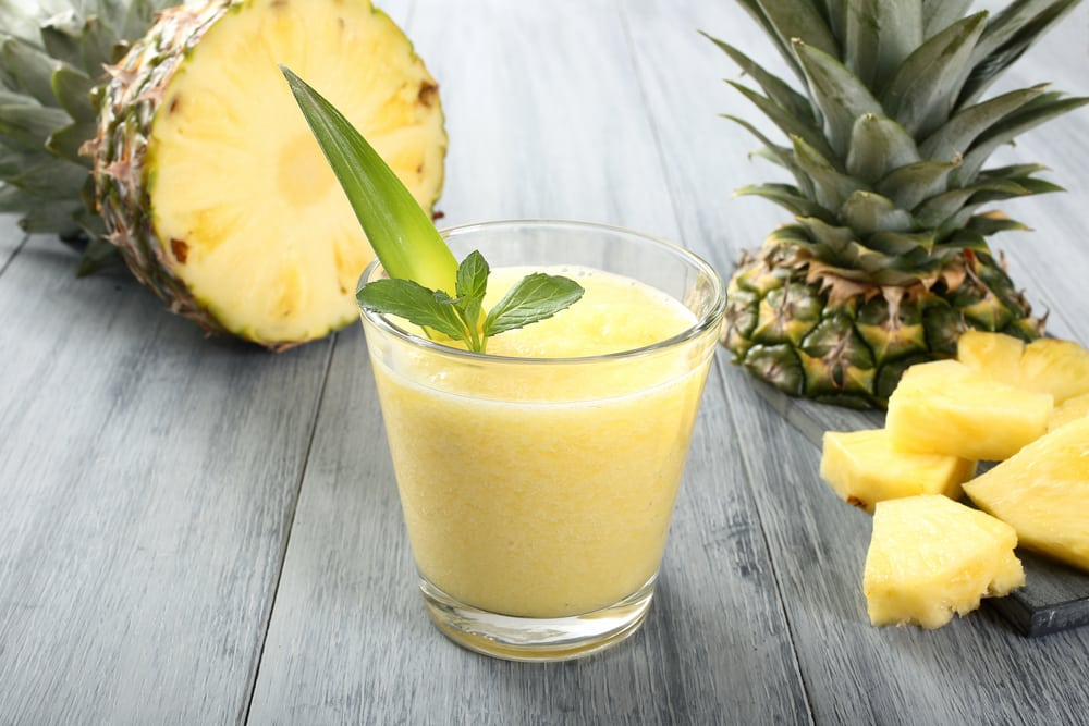 pineapple smoothie recipes for weight loss