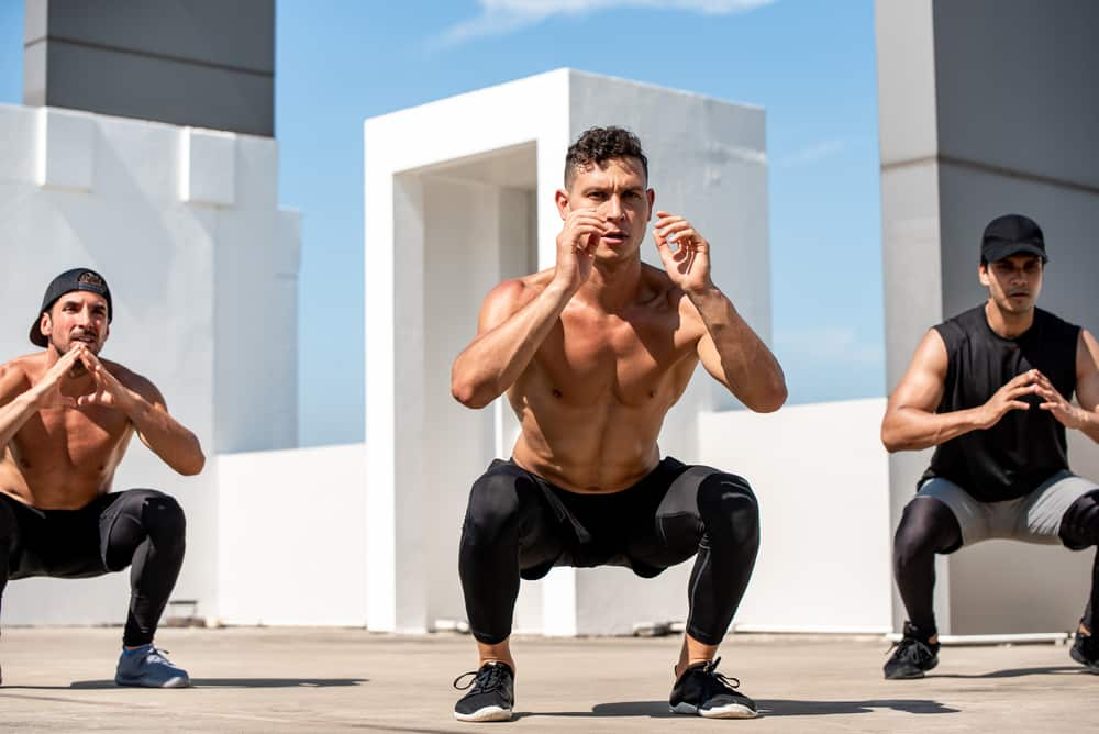 hiit workouts for men with weights