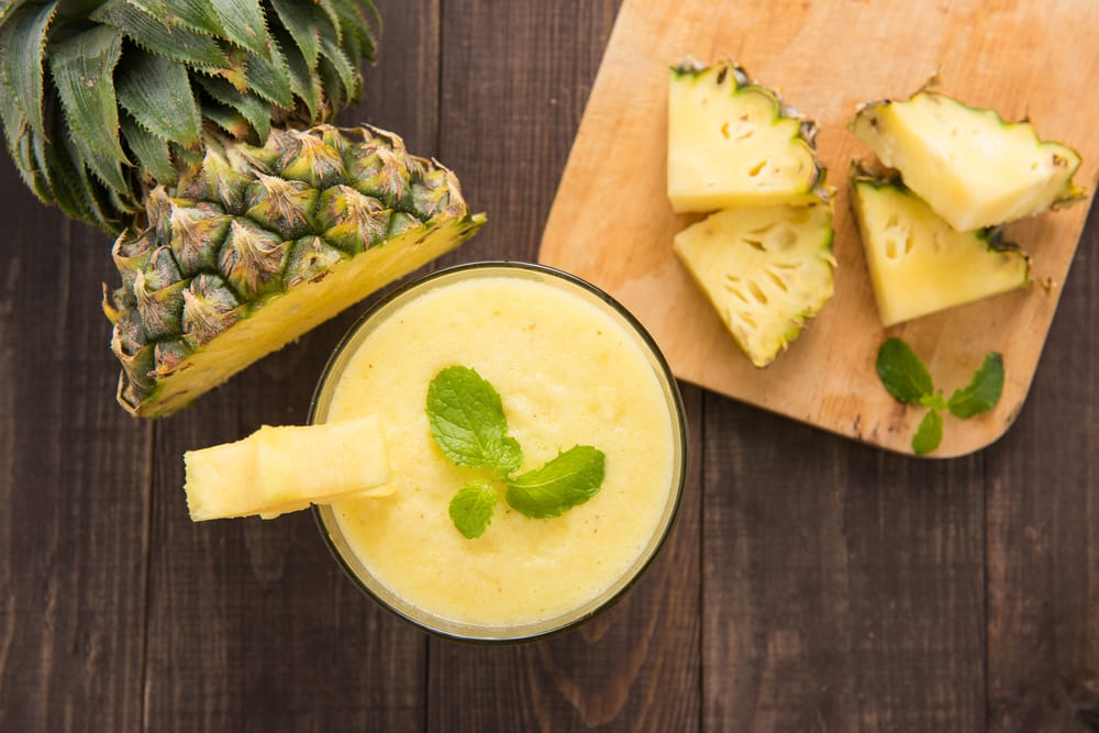 mango pineapple smoothie for weight loss