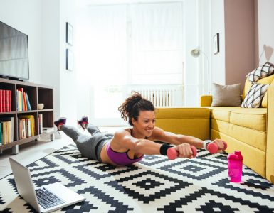 ways to exercise at home