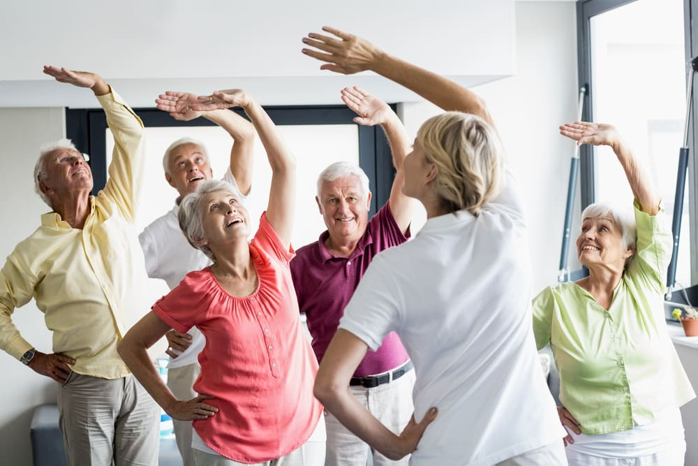 balance training exercises for seniors