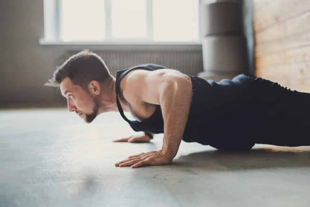at home workouts for men who are overweight
