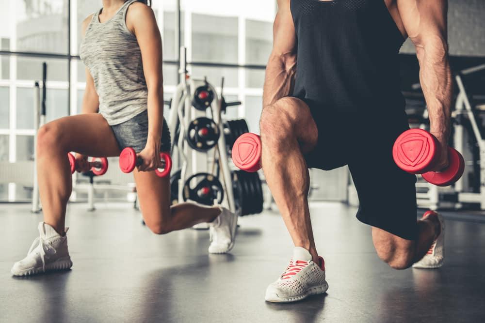 glute exercises for men dumbells