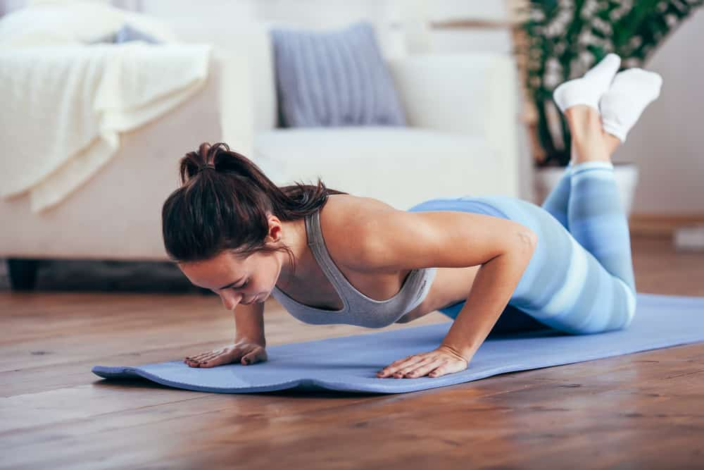 how many push-ups should i do a day to get abs?