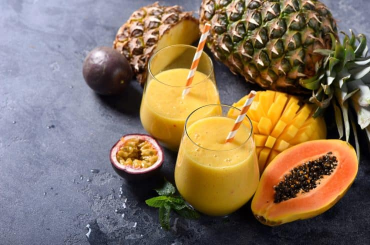 pineapple smoothie for weight loss