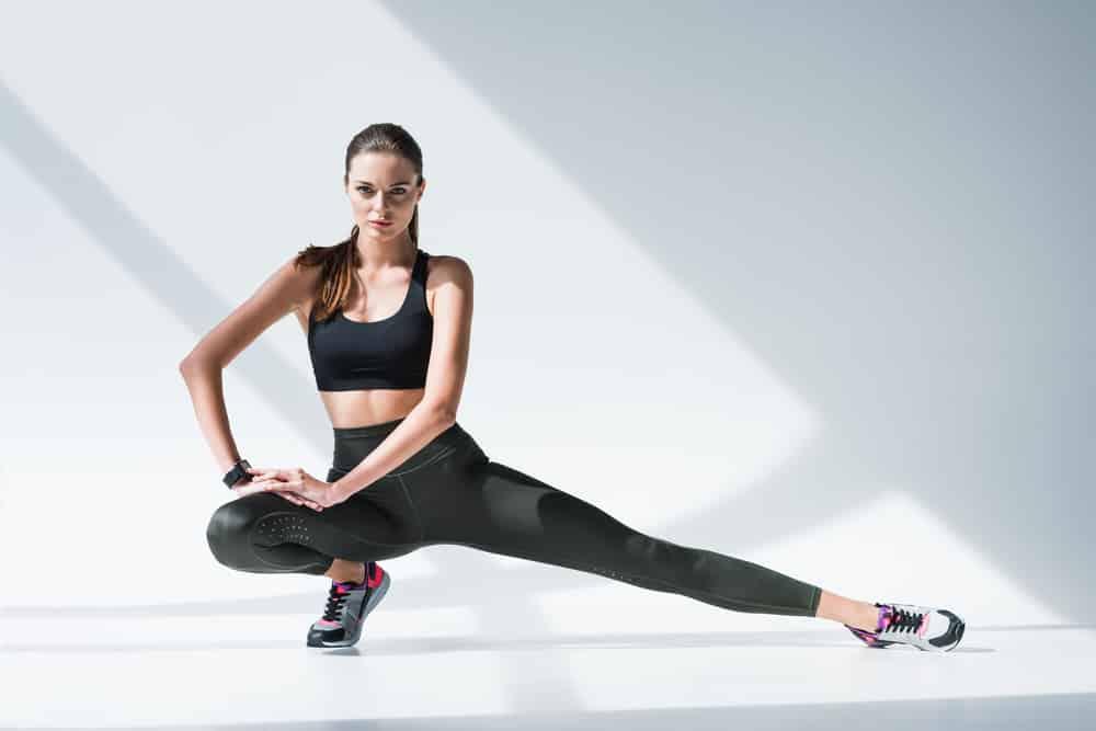 types of leg stretches