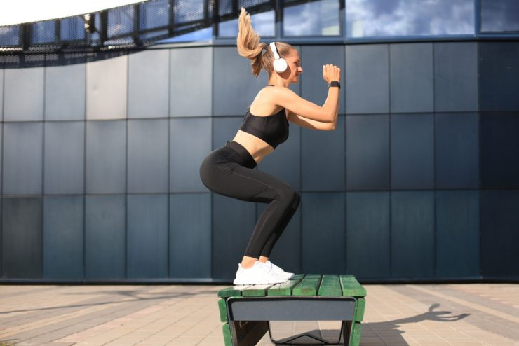 Single-Leg Box Squats To Power Up Your Lower Limbs