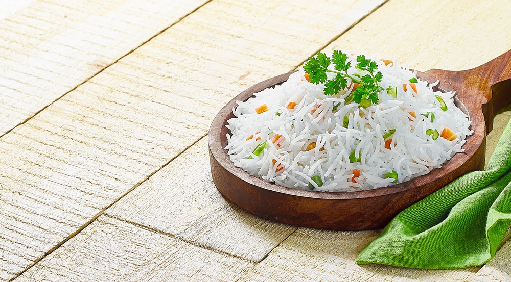 white rice nutrition