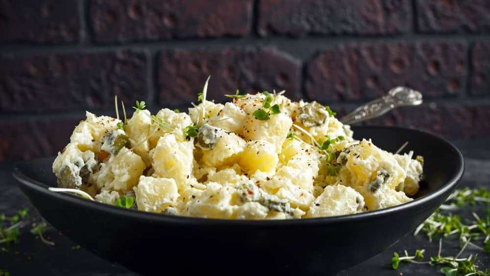 health benefits of potato salad