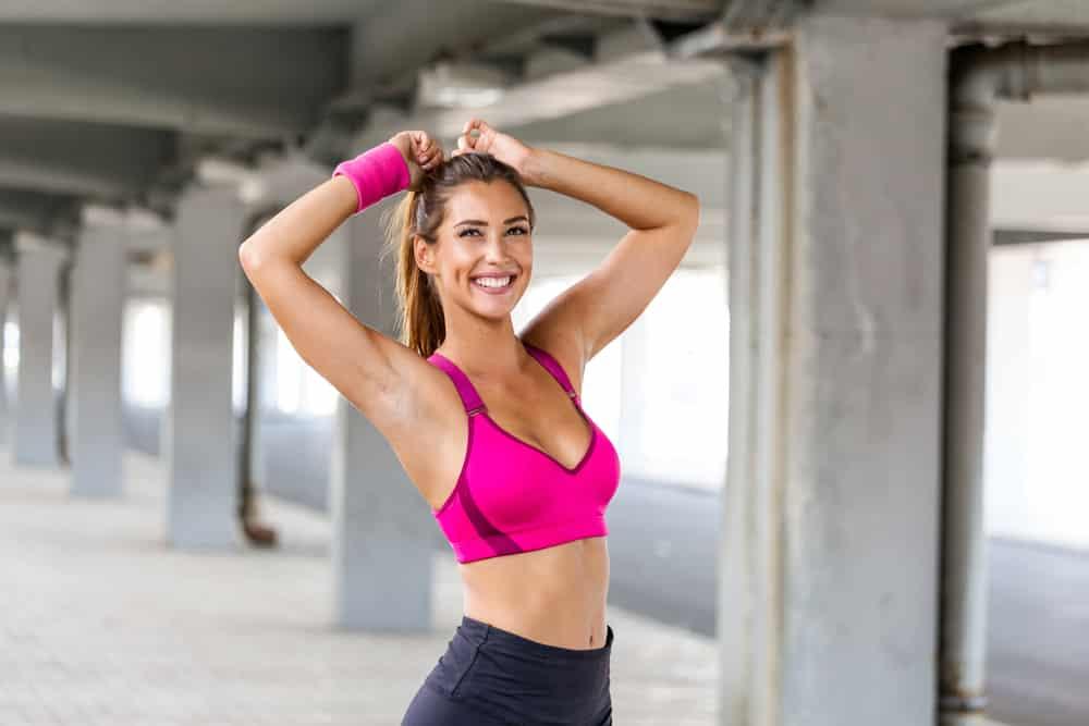 female athletic body type