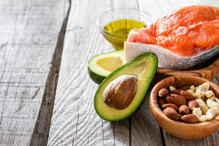 high fat keto foods