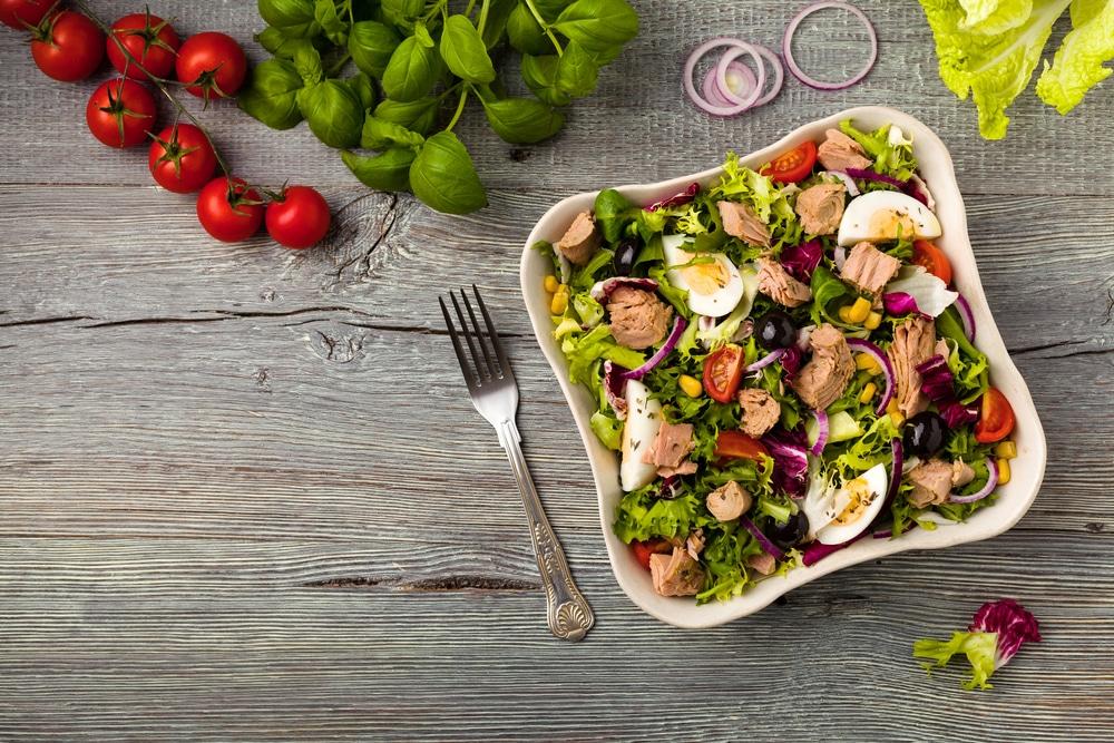 health benefits of tuna salad