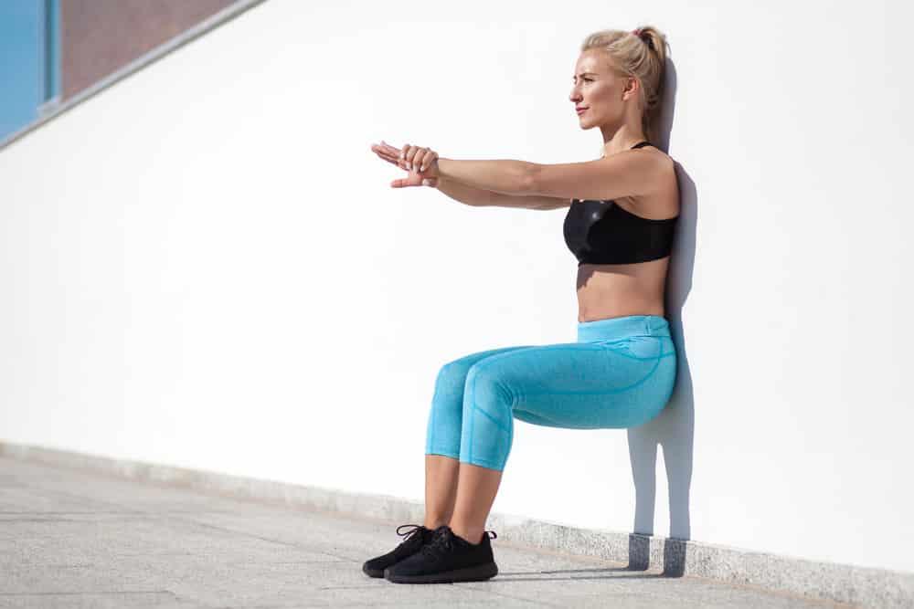 wall sitting benefits