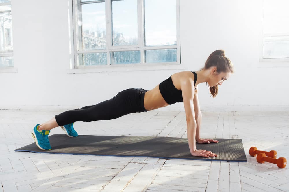 5 day workout routine at home