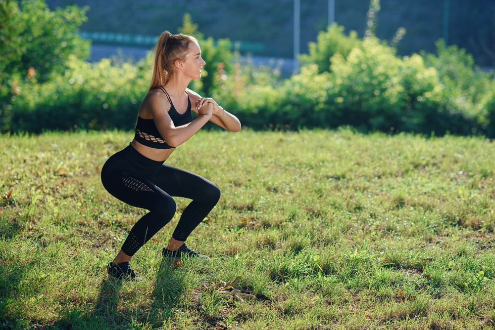 100 squats a day for 30 days