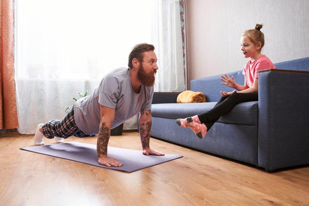 30 day plank challenge for beginners men