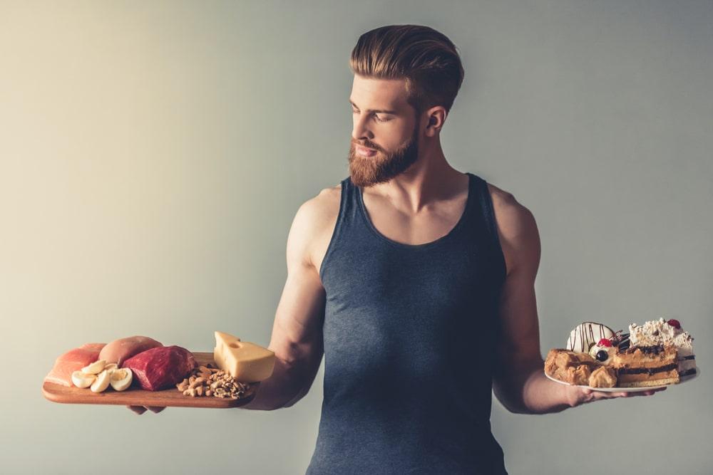 lean muscle diet plan male