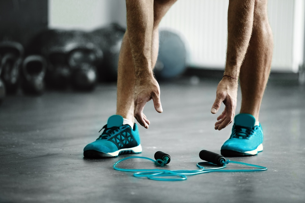 how to slim muscular legs male
