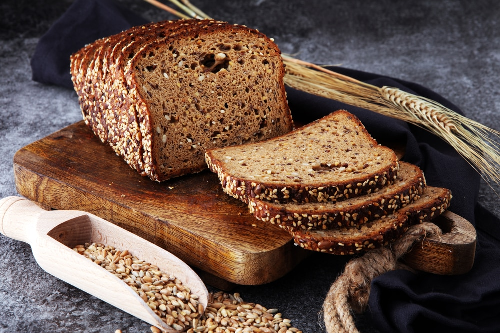 whole wheat bread nutrition