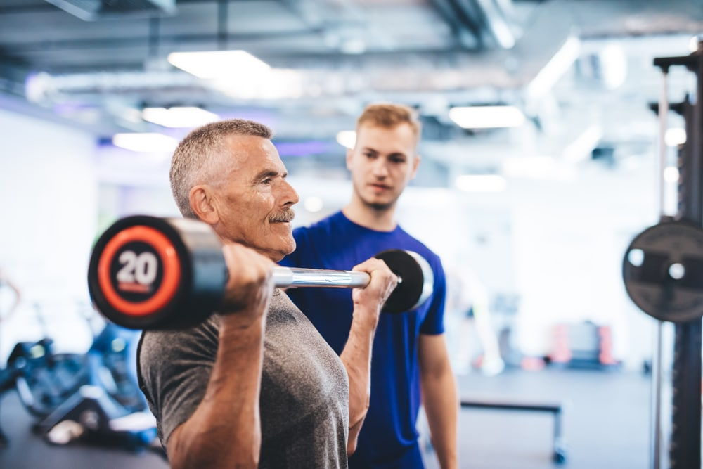 calories burned lifting weights