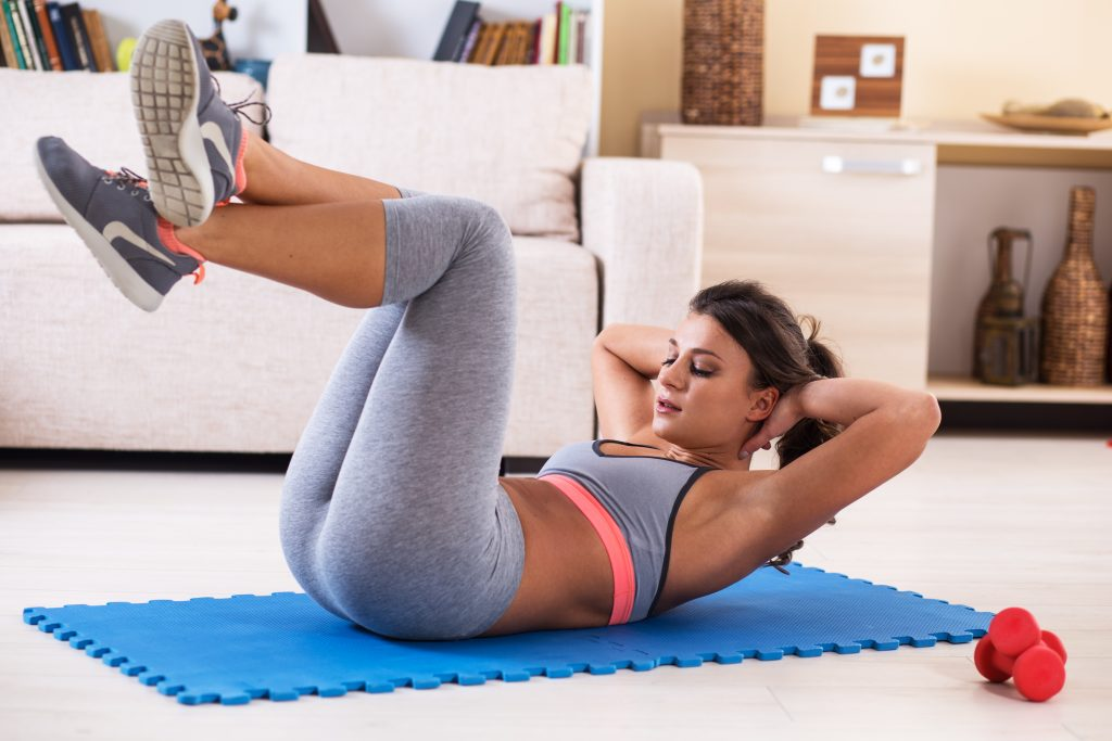 how many ab exercises per workout for weight loss