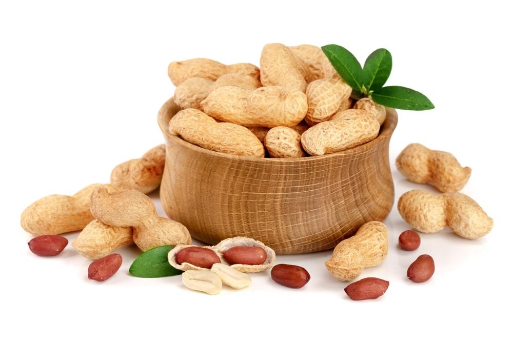 fat in peanuts
