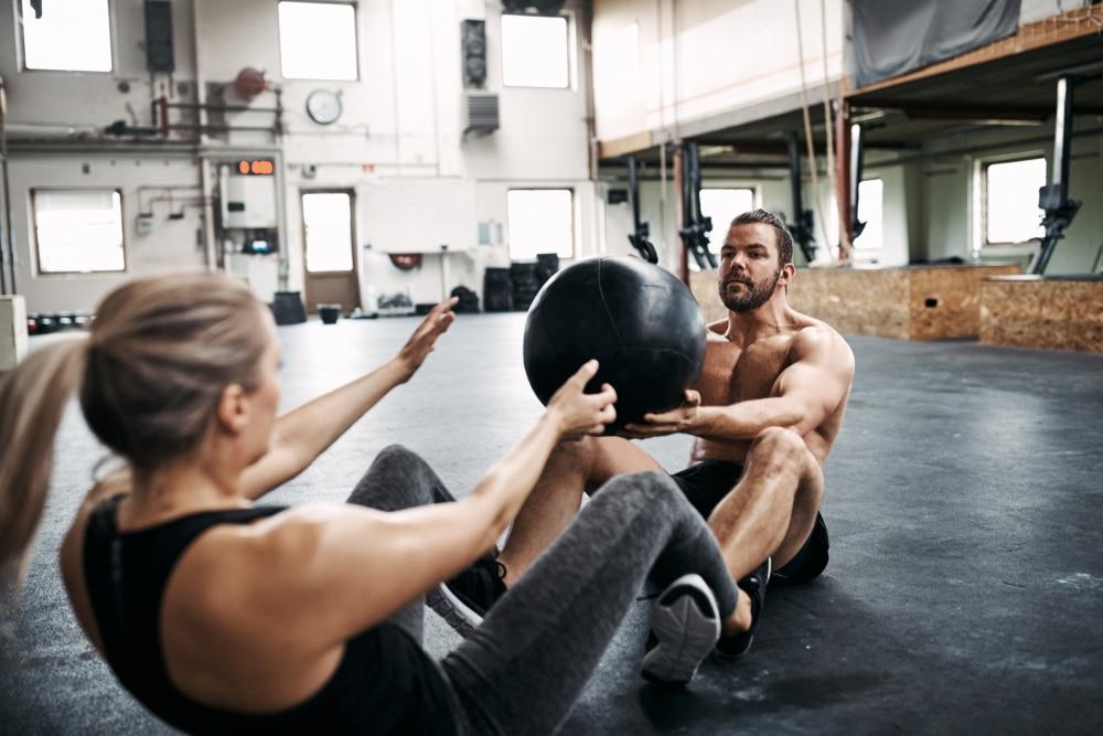 partner medicine ball workouts