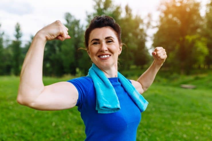 gaining muscle after 50