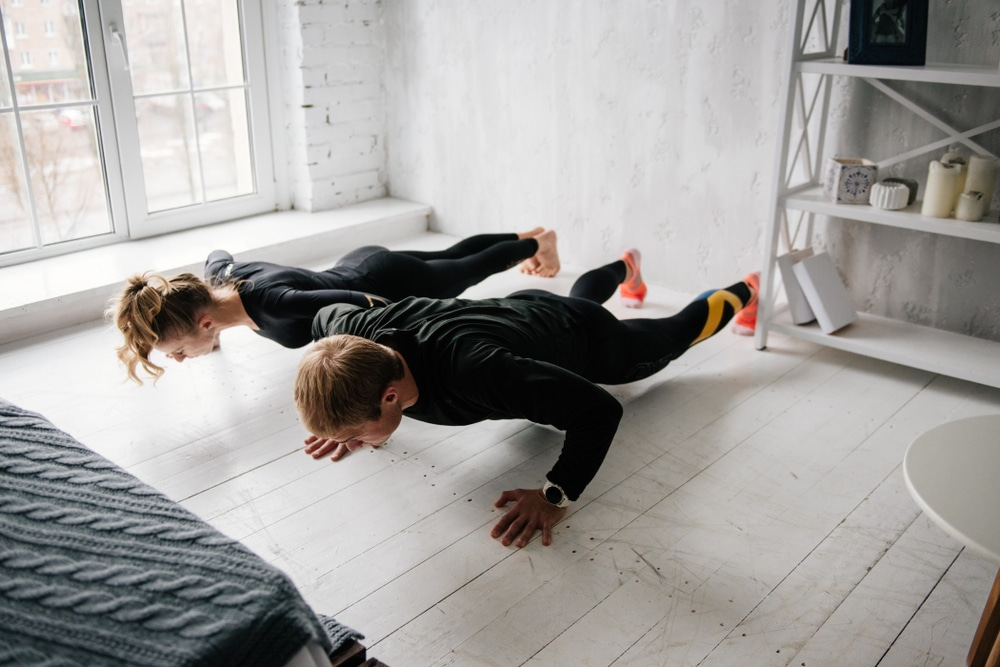 benefits of 100 push ups everyday