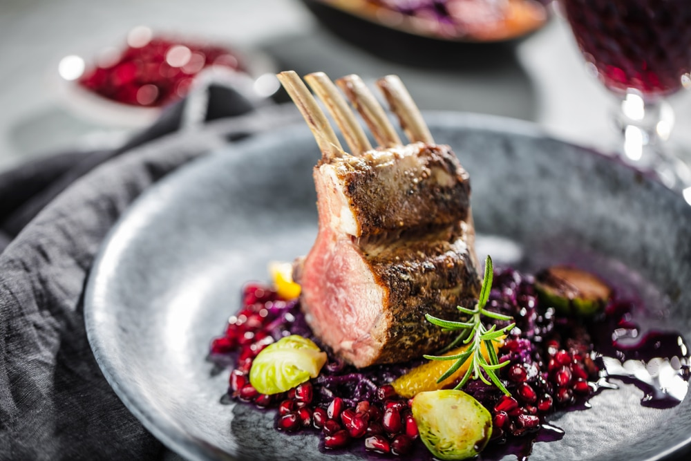 lamb meat nutrition compared to beef
