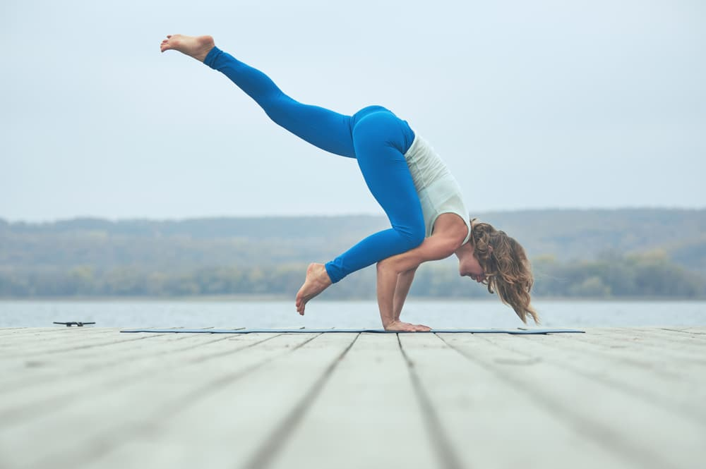 good beginner to intermediate yoga poses