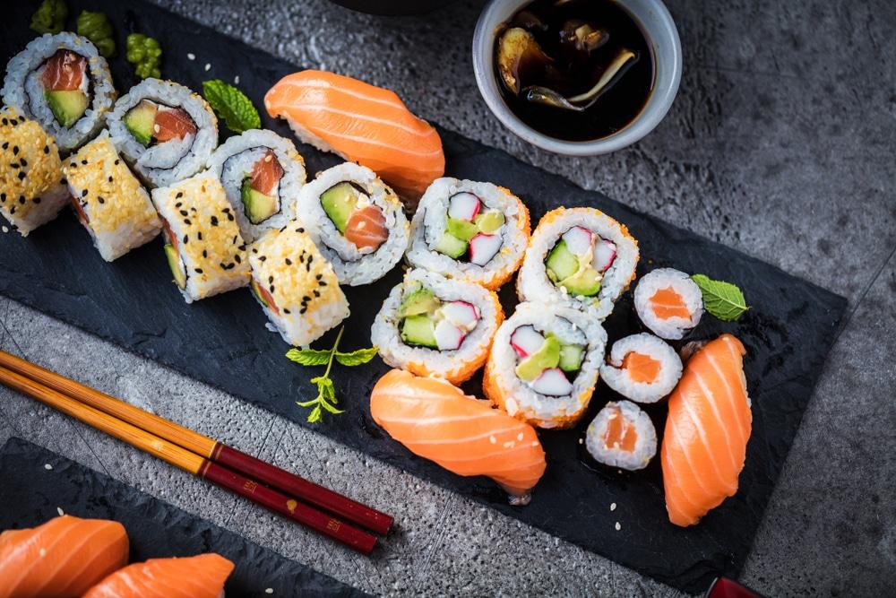 sushi nutrition