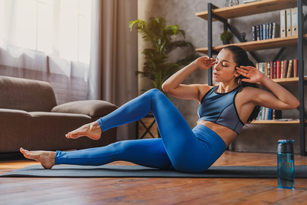 different types of crunches for upper abs
