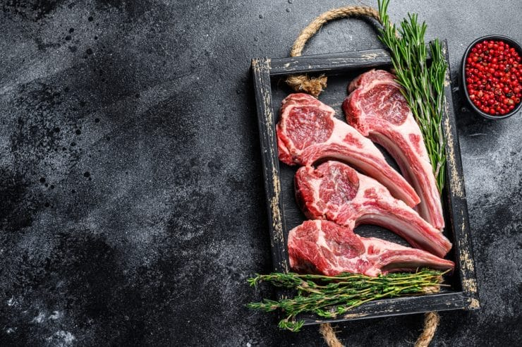lamb meat nutrition info