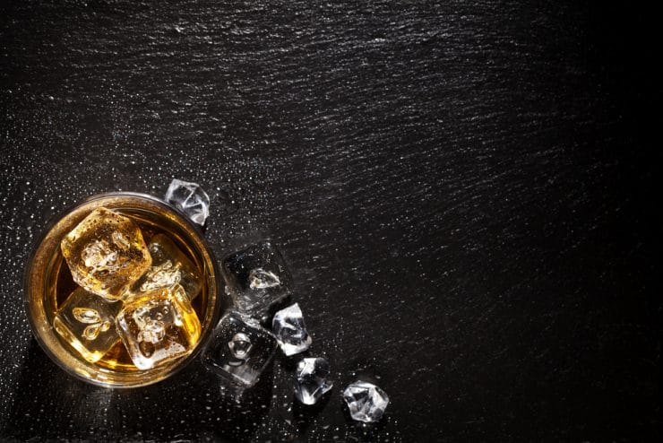 whiskey carbs