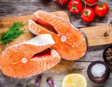 is raw salmon good for you